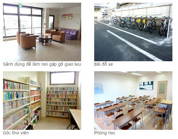 cơ sở vật chất trường Toyo