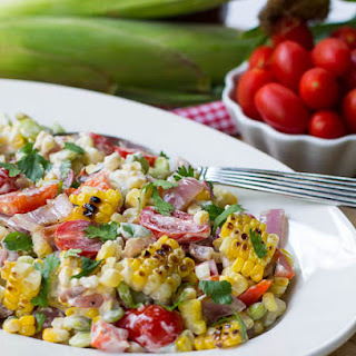 Grilled Corn and Butter Bean Salad Recipe