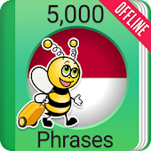 Learn Indonesian Phrasebook - 5,000 Phrases