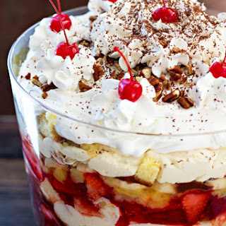 Banana Split Trifle