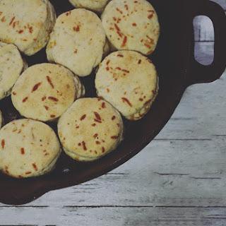 Garlic Cheese Biscuit.