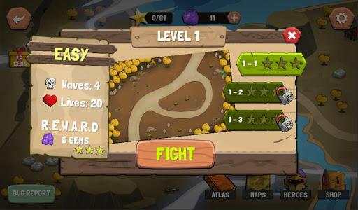 Tower Defense: Castle Fantasy TD 1.1.2 screenshots 2