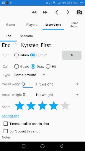 Curling Coach (Trial Version) 5.2.1 screenshots 2