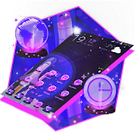 Flat Space Technology Launcher Icon