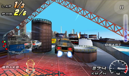 Raging Thunder 2 - FREE screenshot 1