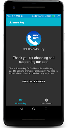 Call Recorder Key screenshots 1