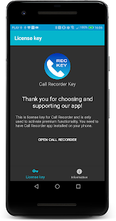 Call Recorder Key Screenshot