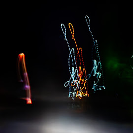 by Banie du Randt - Abstract Light Painting