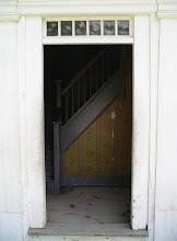 Photo: front door of the parsonage