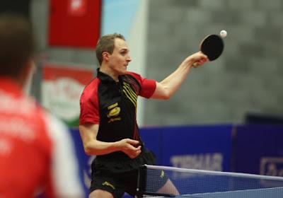 Geen finale dubbel in het tafeltennis voor Cédric Nuytinck in Boedapest
