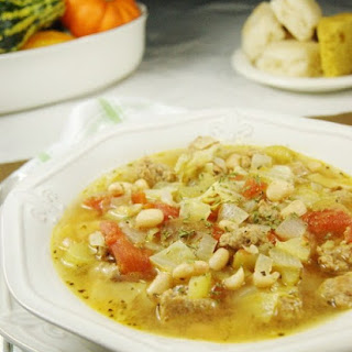 White Bean & Sausage Soup