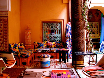See a riad designed by Morocco's Warhol - Touring Bird