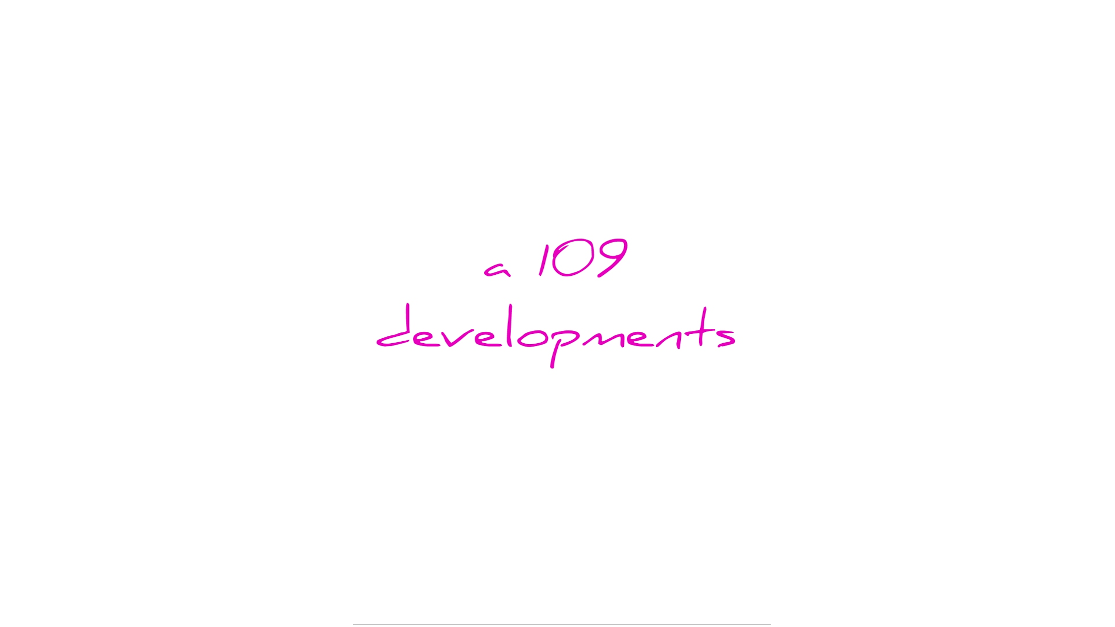 A 109 Developments