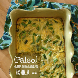 Asparagus, Dill + Onion Egg Casserole Recipe