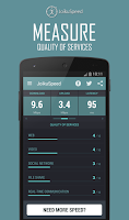 Screenshot of JoikuSpeed – 3G/4G Speeds