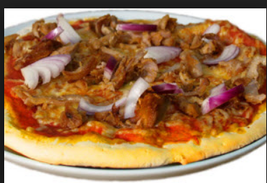 Doner Pizza with Any 2 Toppings