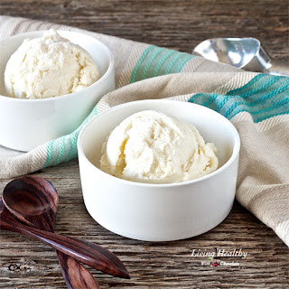 Lychee Ice Cream | paleo, gluten free, refined sugar free, soy free.