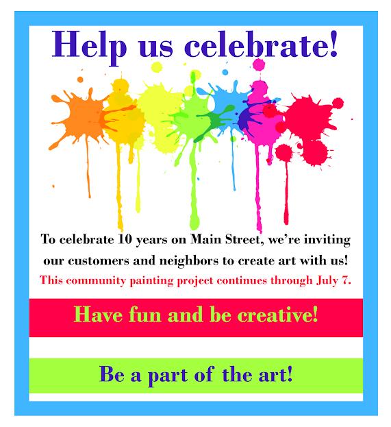 help us celebrate