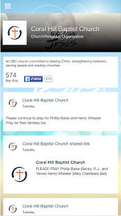 Coral Hill Baptist- screenshot thumbnail