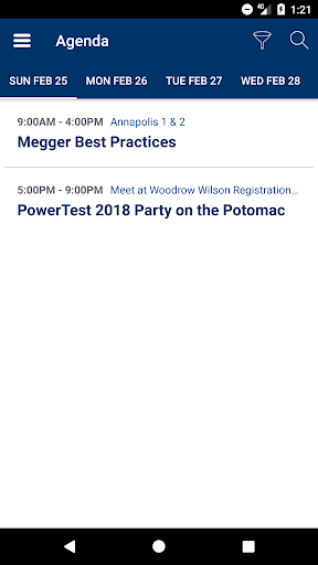 PowerTest - Washington, D.C. screenshot