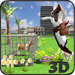Wild Pony Horse Rescue Sim 2018 : Survival Game Icon