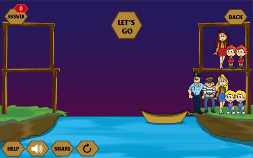 River Crossing IQ - IQ Test 1.4.4 screenshots 4