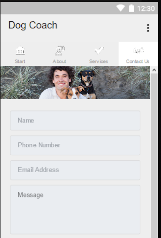 android Dog Coach Screenshot 4