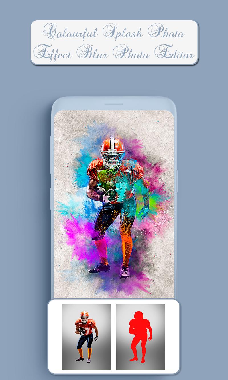 Скриншот Colourful Splash Photo Effect Blur Photo Editor