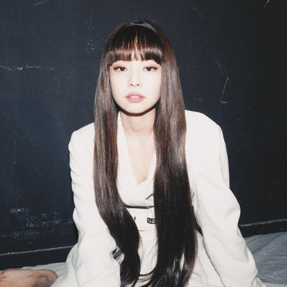 blackpink jennie bangs 2