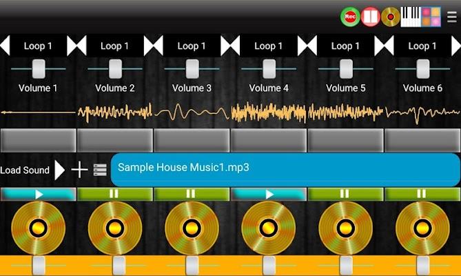 DJ Mix Virtual Electro Station - screenshot