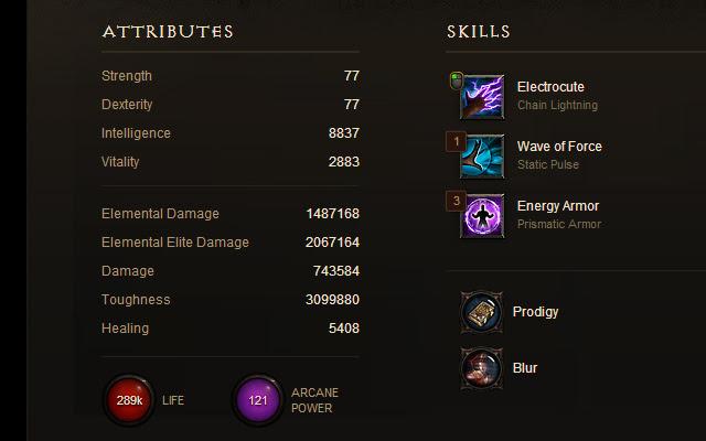 Diablo 3 profile +