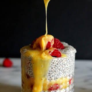 Lemon Curd Chia Pudding.