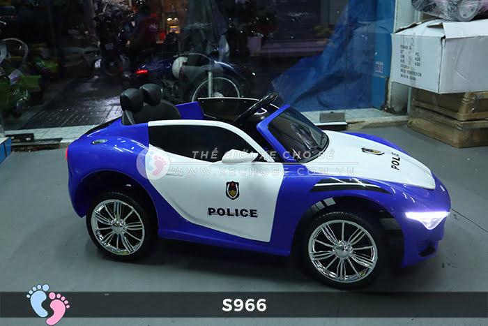 Xe ô tô điện cảnh sát XYS-966 13