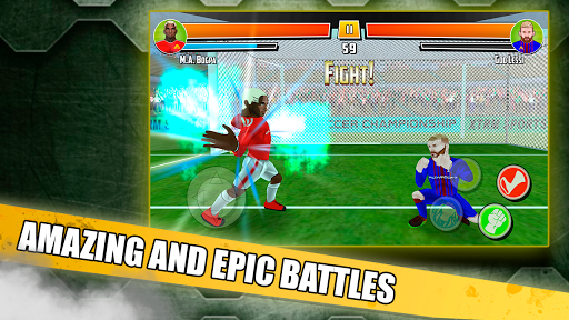 Free soccer game 2018 - Fight of heroes 1.6 screenshots 9