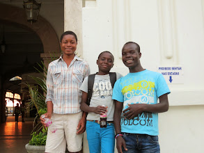Photo: kids at the train station who wanted me to take their picture- we moved a few times to get the best light