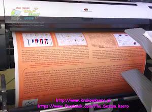 Photo: wydruk plakatów i posterów o szerokości do 914mm. Usługa realizowana na poczekaniu. Użyty papier to satynowany 280g/m. Wydruk w rozmiarze 900x1200mm.