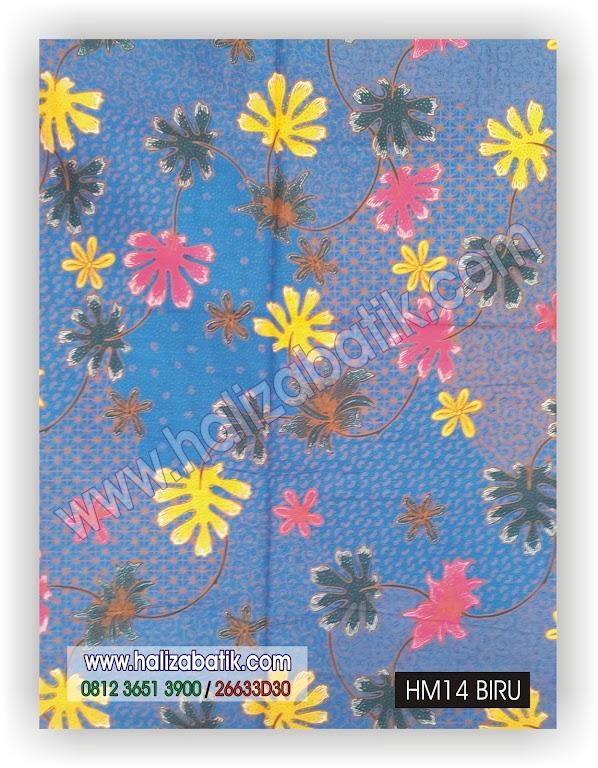 Butik Batik Modern, Baju Murah, Belanja Batik Online, HM14 BIRU