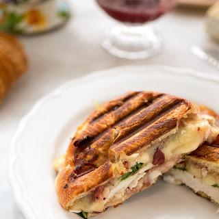 Turkey Croissant Panini