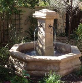 Relic Fountain with Spouts