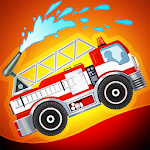 Fire Fighters Racing: Fireman Drives Fire Truck Icon