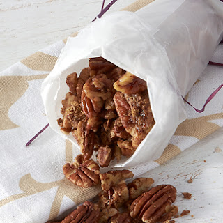 Toasted Candied Pecans.
