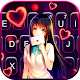 Cute Lovely Girl Keyboard Theme Download for PC Windows 10/8/7