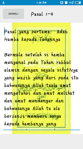 Kitab Adabul Insan screenshot 6