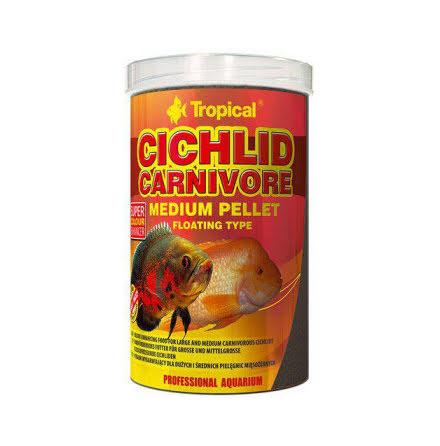 Cichlid carnivore M pellets, flytande