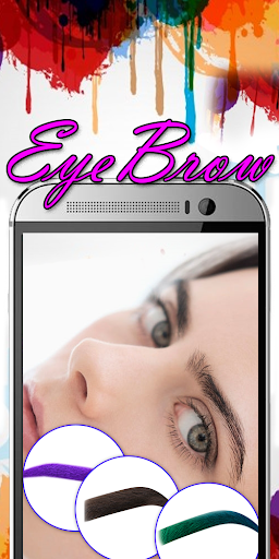 Eyebrow Shaping App - Beauty Makeup Photo  screenshots 5