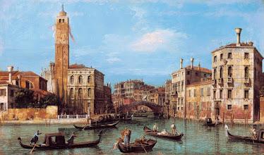 """Photo: Canaletto, """"Il Canal Grande e l'ingresso al Cannaregio"""""""