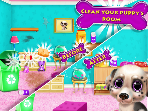 Puppy Pet Dog Daycare - Virtual Pet Shop Care Game modavailable screenshots 4