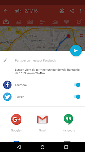 Runtastic Road Bike PRO Vélo Capture d'écran