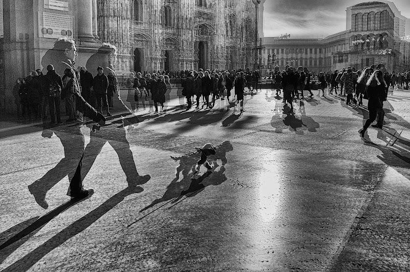passeggiata in piazza Duomo di Zerosedici