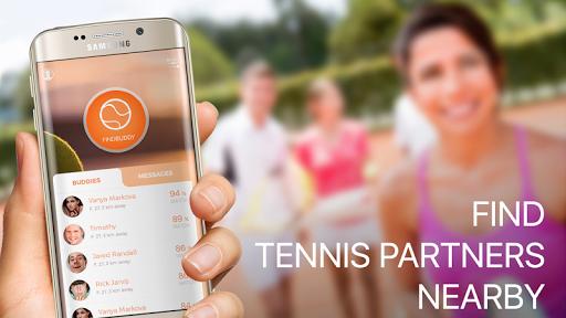 Find tennis player-play tennis